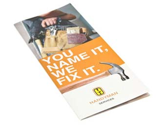 Buy discounted custom brochures in bulk with drop shipment services